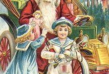Christmas: Vintage Cards, Posters, Paintings  / Vintage Cards, Posters and Paintings for Christmas / by priscilla batista