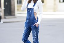 The denim overall
