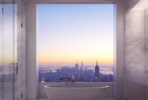 Bathroom Design / Small bathrooms, luxury bathrooms, bathroom decor inspiration
