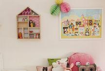 Lastenhuoneita