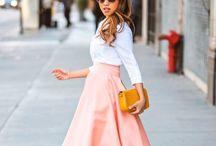 Модные юбки / О модных, стильных юбках и с чем их носить