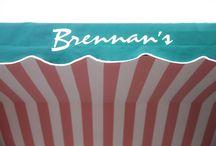 Brennan's Interior / The beautiful interior of Brennan's