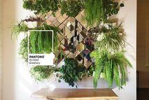 Pantone greenery wedding ideas