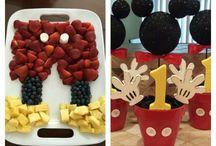 Mickey bday ideas
