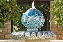 Mosaic Fountains by Casa Mosaica Studio
