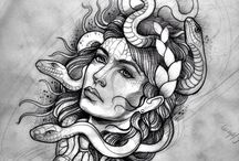 Tattoo ideas / medusa