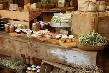 Cottage/Rustic Retail Displays