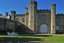 Chiddingstone Castle Weddings / Nestling in rolling Kent countryside, the Castle lies on the edge of the idyllic village of Chiddingstone and is set in 35 acres of beautiful grounds including a lake with a footbridge leading to the village. Find out more about this venue: http://bit.ly/1SxWSZm