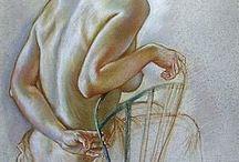 Human Anatomy (Man/Woman) / Herkesin yararlanması için derlediğim kadın ve erkek anatomi çizimleri