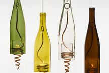 wine bottle projects / by Linda Hurst