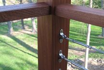 Stainless Steel Cable Railing / The cable rail system from Indital offers all the nuts, bolts, mounts, railings, and all else you'll need to complete a full rail system for stairways, balconies, and more.