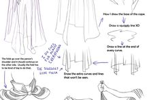 . manga clothes studes/references .