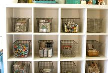 Craft room / by Ginger Alumbaugh