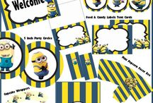 Minion Party Printables