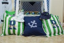 Pillows by GreatStitch / Monogrammed pillows created by GreatStitch