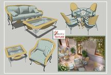 Furniture outdoor set
