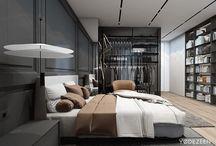 интерьер. спальня