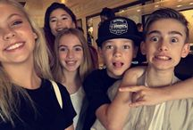 JORDYN JONES AND LAUREN ORLANDO AND LILY WALLACE AND HAYDEN SUMMERALL AND JOHNNY ORLANDO