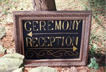 Wedding Signs / Wedding Sign Ideas and Inspirations