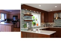 Before and After: Kitchens and Bathrooms / Look at the amazing makeovers Dream Kitchens Inc. has been responsible for, quite the beautifying going on here!