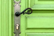 Fun with Doors! / Fun and inspiring colors, hardware, and design to incorporate into any room.