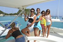 Yacht & Sailing trips by Delfino Blu / Enjoy plenty of light hearted moments and discover some beautiful hidden jewels of the Greek Islands on board our luxury yacht. http://goo.gl/JN0vYD