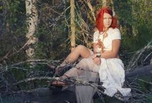 Photoshoots in nature / Photoshoot ideas in nature, portraits, photo editing