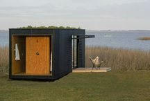 Containers as house
