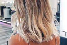 ombre lob hair