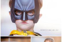 Superhero shoot