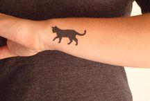 Cat tatoo