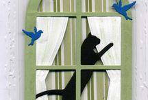 Musta kissa kortti 1