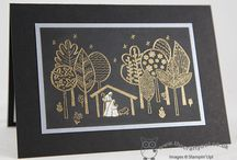 Stampin' Up!- The Newborn King / Projects using the stamp set 'Newborn King'.