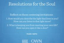 Resolutions For the Soul / Quotes