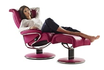 Stressless relaxfauteuils / Geniet van volledige ontspanning in een originele Stressless. De relaxfauteuil met de gepatenteerde functies.