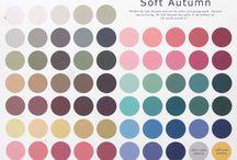 Soft Autumn / Very muted, warm to neutral, medium dark.