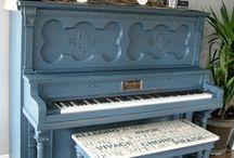 Реставрируем пианино