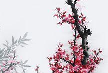Sumi-e painting inspiration