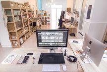 << Nuestro estudio >> / by Project Party Studio