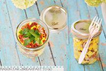 Mason jar meals / by Erica Jefferson