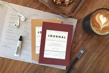 Journaling / Journals, Journalling, Notebooks, Sketchbooks