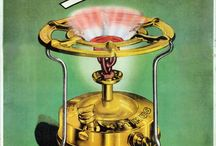 Old camping stove