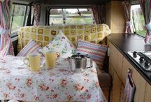Camper Van Inspiration / Jake and I are going half way around Australia in the summer of 2014 in an old camper van. It will be our home for 3 months, so I need to make it liveable!