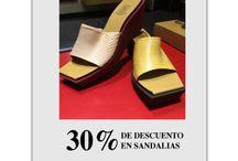 Sandalias / Encuentra en nuestra tienda de El Retiro Centro Comercial una selección de sandalias con el 30% de descuento.