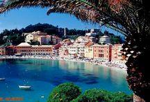 sestri levante / sestri levante is een leuk stadje met eigen stille baai gelegen in Liguria Italie waar lekker gezwommen kan worden in de stad zelf mooie uitvals plaats om excursies te maken bv naar cinque terre  of  Genua