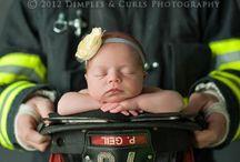 Military, Fire, Police Newborn / by Gabby Malcuit