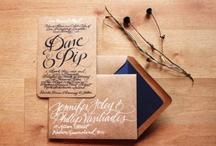 wedding // invitations / by Johanna Miller