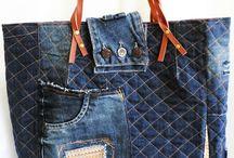 """Malu Bag Jeans - Gávea - RJ /  Seu """" AMADO JEANS """" , uma linda Bag."""