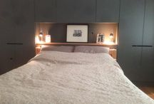 His and Hers wardrobes / His and hers built-in, boutique hotel style wardrobes