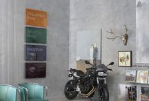 Motorcycle display